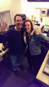 Fiona Ledgard, from Manchester, UK radio station ALLFM, visits Twirl Radio.