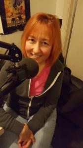 Natalie Cortez in the Twirl Radio studio.